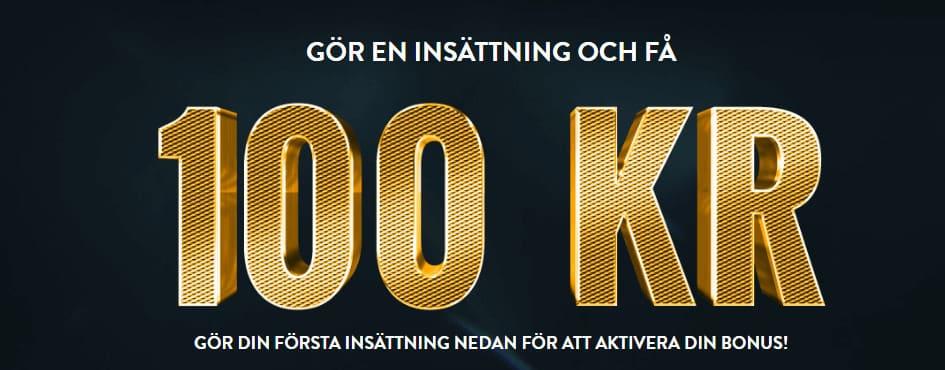 100kr casino