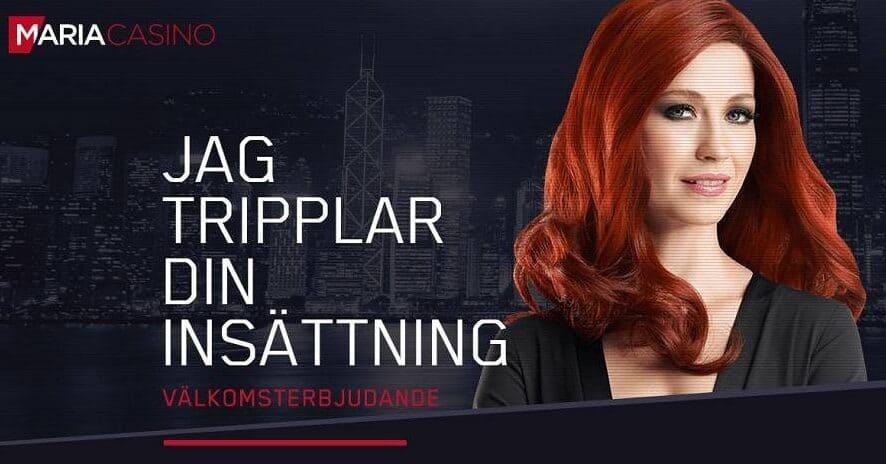 Maria Casino reklam