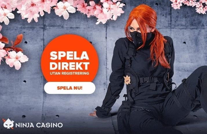 Ninjacasino reklam